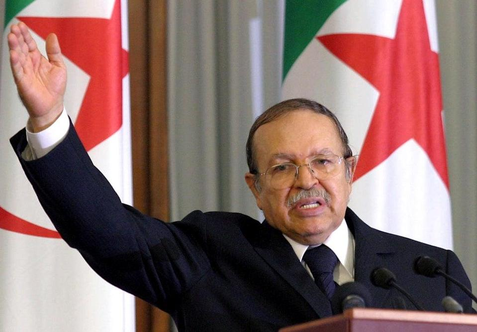 Algeria Obit Bouteflika (Copyright 2021 The Associated Press. All rights reserved.)