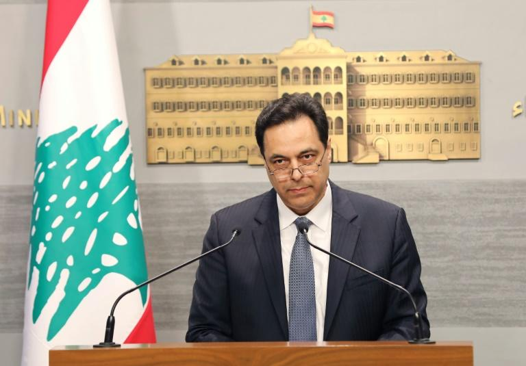 Lebanon's premier said the country should not meet eurobond payments coming due when citizens were locked out of their bank accounts