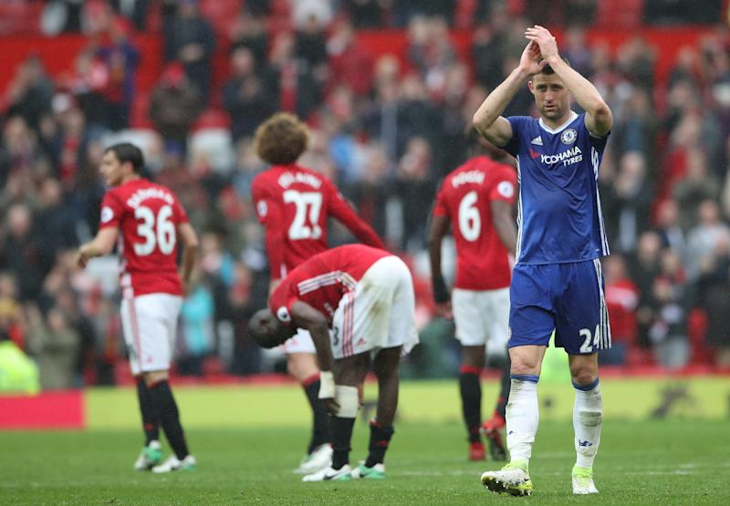 Cahill was left feeling angry at Chelsea's display at Manchester United on Sunday - PA Wire/PA Images