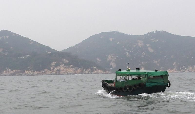 Ferry travelling between Hong Kong islands sinks but all 15 on board rescued