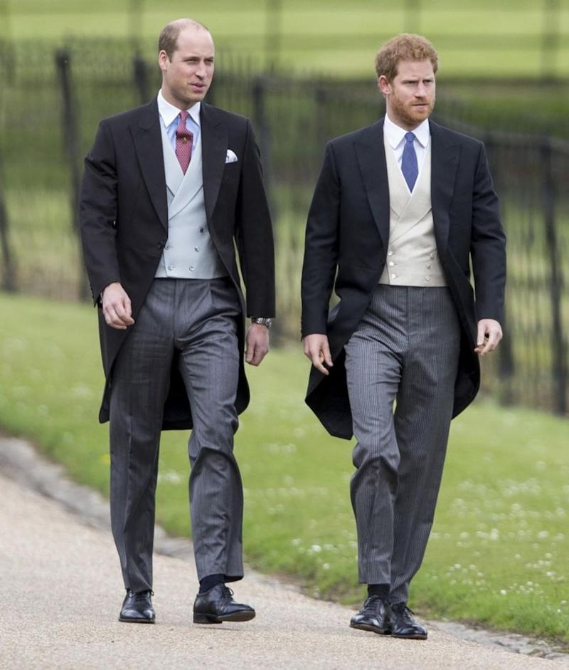 Prince William and Prince Harry | UK Press/GEtty