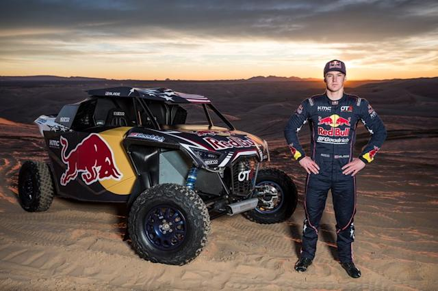 "Blade Hildebrand, miembro del equipo Red Bull Off-Road Junior <span class=""copyright"">Red Bull Content Pool</span>"
