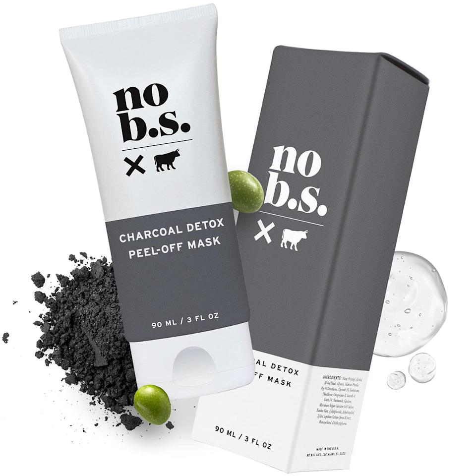 """<h2>No B.S.<br></h2><br>30% off Charcoal Peel Off Mask<br><br><strong>No B.S.</strong> Charcoal Peel Off Face Mask with Niacinamide, $, available at <a href=""""https://amzn.to/3zL87GD"""" rel=""""nofollow noopener"""" target=""""_blank"""" data-ylk=""""slk:Amazon"""" class=""""link rapid-noclick-resp"""">Amazon</a>"""