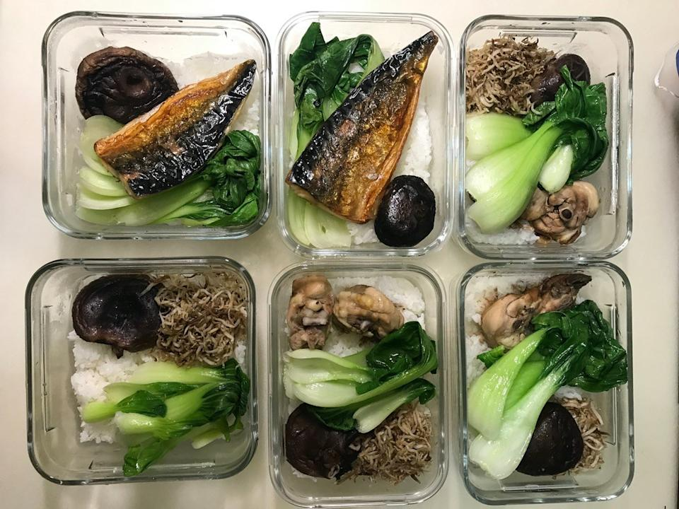 Premade microwave meals