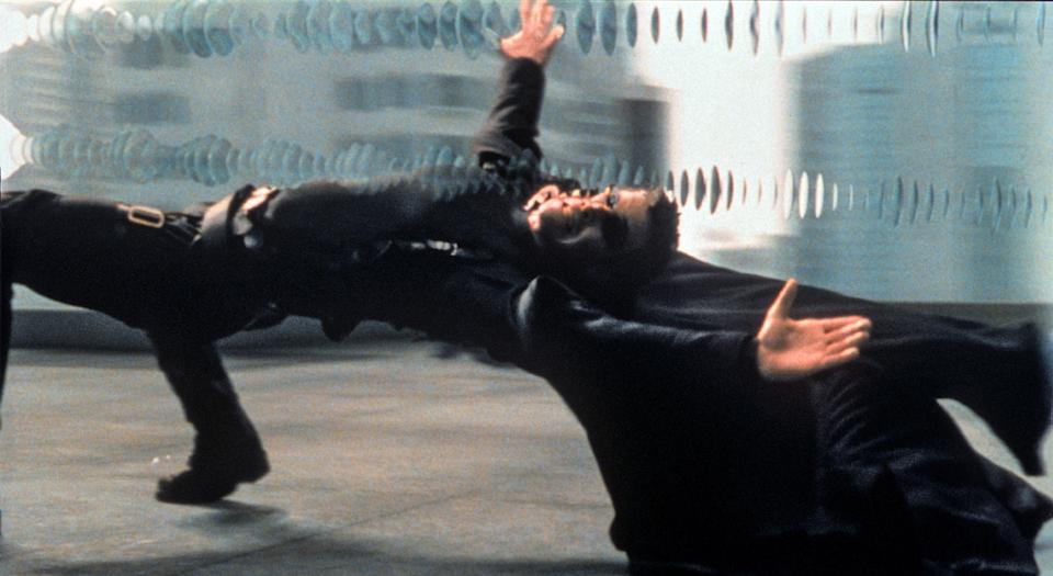 Keanu Reeves as Neo in 'The Matrix' (Photo: Warner Bros./Everett Collection)
