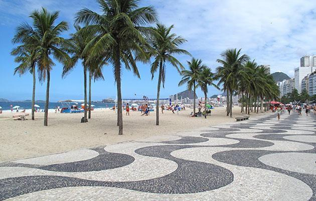 You can't go to Rio and miss Copacabana. Photo: Getty
