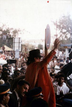 When Michael Jackson visited India