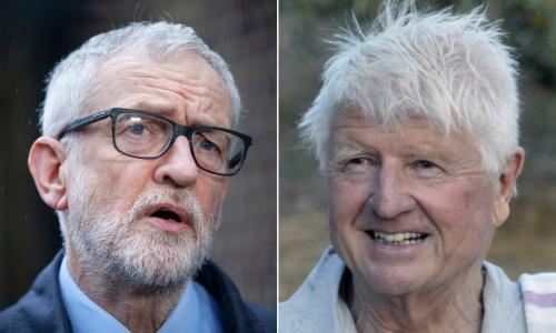 Jeremy Corbyn and Stanley Johnson apologise for Covid breaches