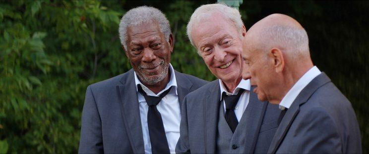 Morgan Freeman, Michael Caine, and Alan Arkin in Going in Style