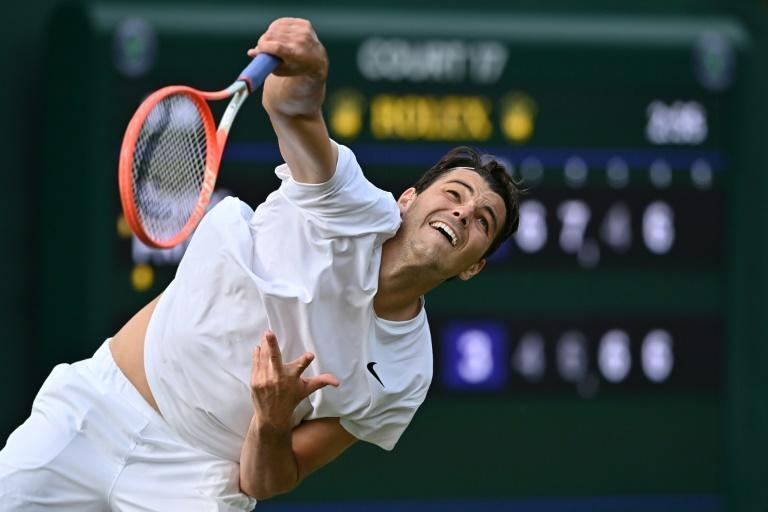 Taylor Fritz surprised many who had seen him leave the French Open a month ago in a wheelchair due to a knee injury turn up for Wimbledon where he reached the third round only to lose to fourth seed Alexander Zverev