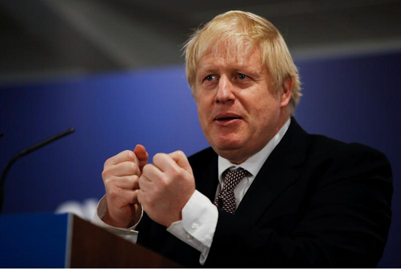 Boris Johnson lidera las encuestas. REUTERS/Phil Noble