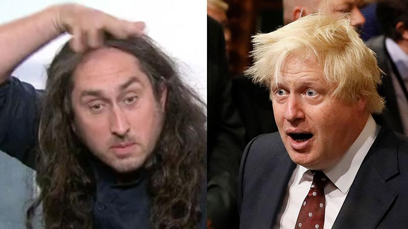 Ross Noble does his best Boris Johnson impression on Today
