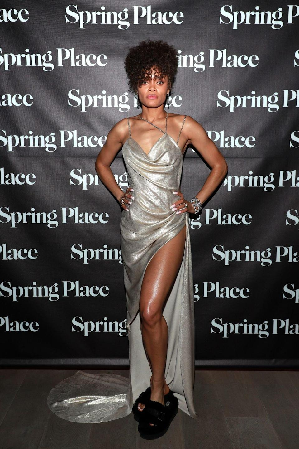 Andra Day At Spring's Place Oscars Party