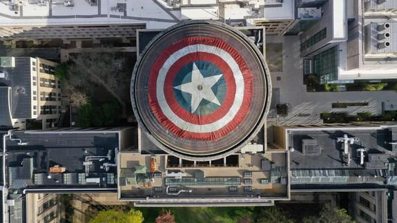 MIT 'hackers' turn Great Dome into Captain America's shield