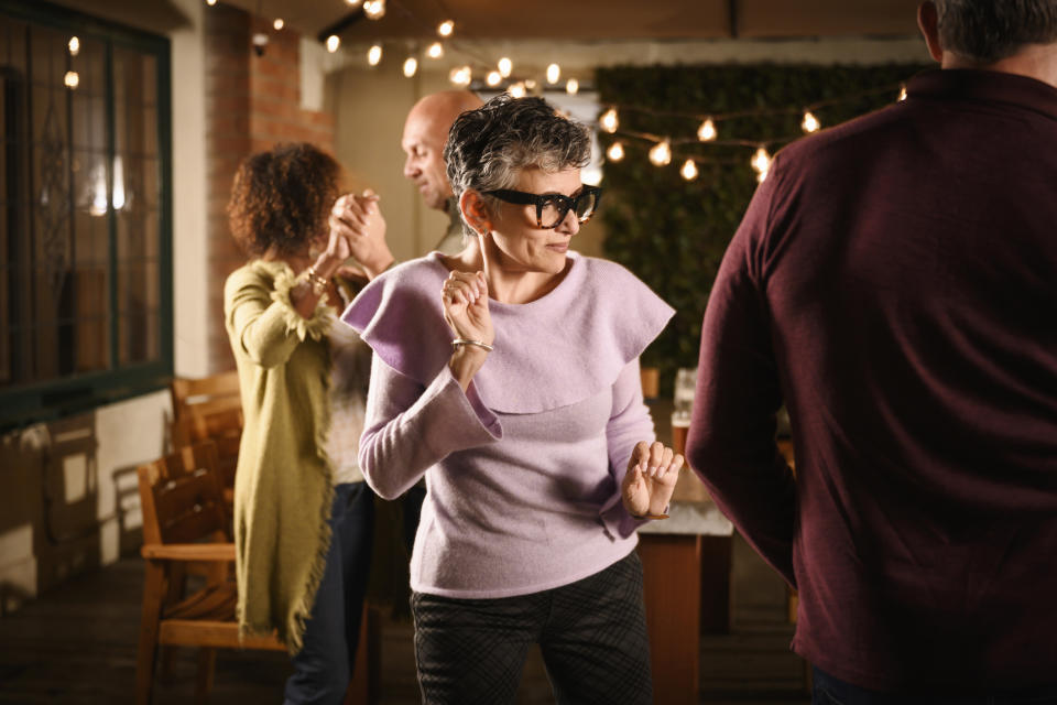 Dancing in a club is totally acceptable for anyone over the age of 45. (Getty Images)