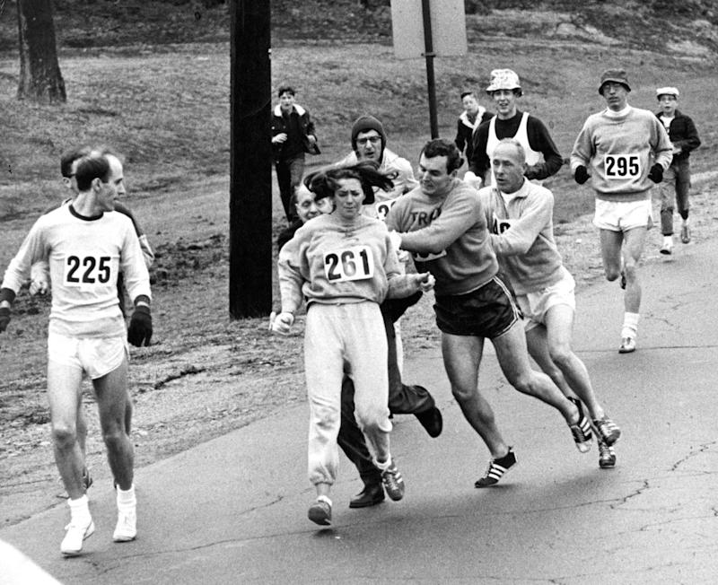 The First Woman to Officially Run the Boston Marathon Is Back This Year
