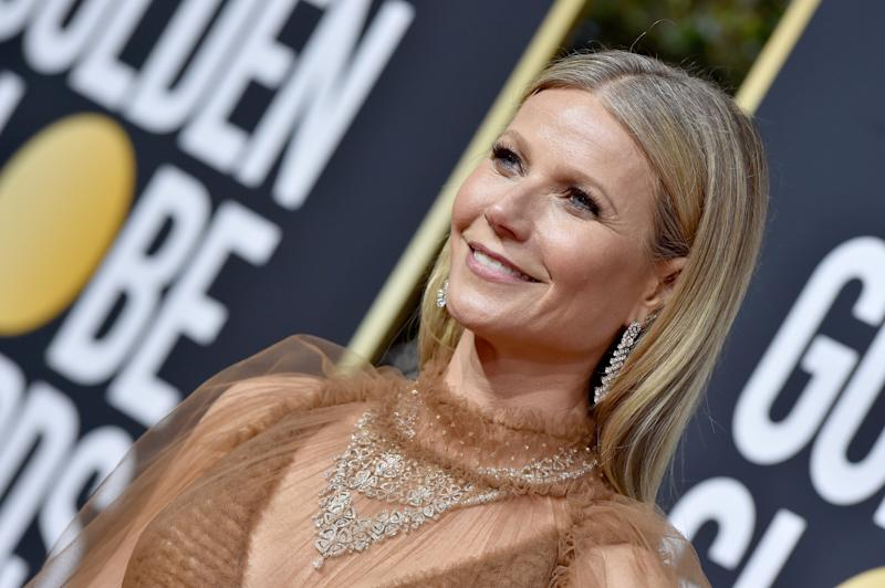 "Gwyneth Paltrow sort une bougie qui sent ""comme son vagin"" (Photo by Axelle/Bauer-Griffin/FilmMagic)"
