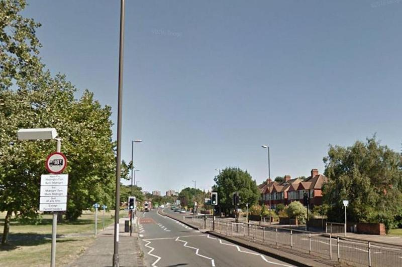 Vicious assault: The attack took place on Eltham Hill (Google)