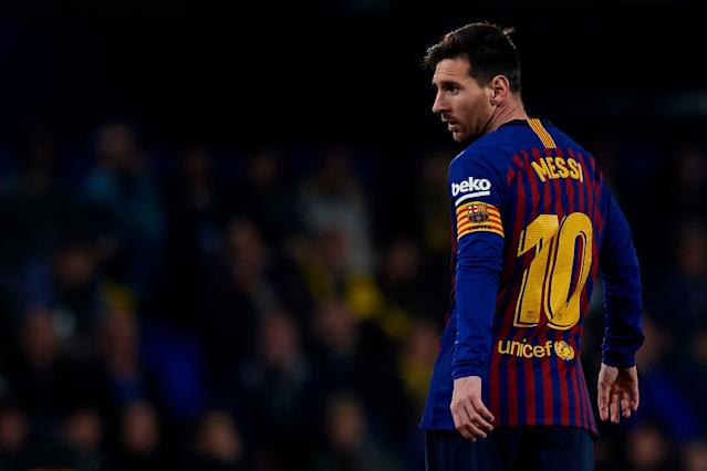 Will Lionel Messi deliver another gorgeous free kick goal against Atletico Madrid? (Getty)