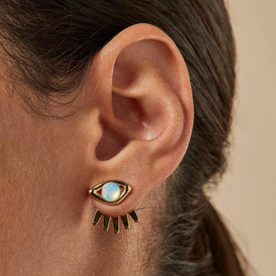 <p>It doesn't get any more eye-catching than these <span>Jenny Bird Lia Ear Jackets</span> ($85), literally. Gift them to your friend who's bold with their accessories.</p>