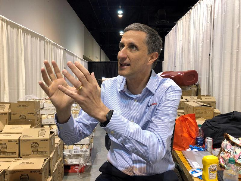FILE PHOTO: Bernardo Hees chief executive of Kraft Heinz Co and a partner at Brazilian firm 3G Capital at the Berkshire annual shareholder weekend in Omaha