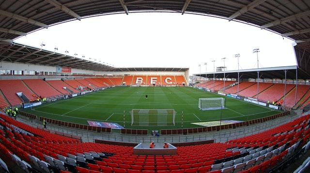 Blackpool supporters have been asked to arrive at Bloomfield Road at least 30 minutes before kick-off