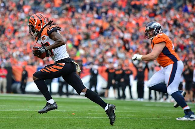 Dre Kirkpatrick takes off. (Getty)