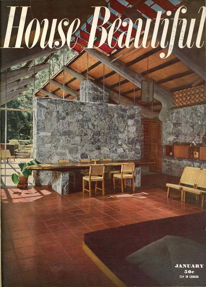house beautiful magazine looked like this the year you. Black Bedroom Furniture Sets. Home Design Ideas