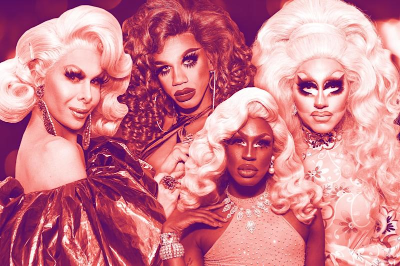 A fabulous collection of the RuPaul's Drag Race queens' best music videos