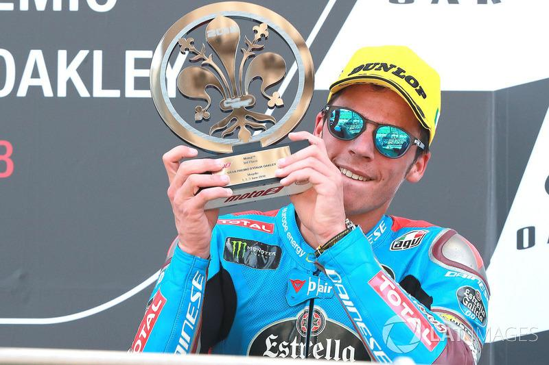 "Podio: tercer puesto Joan Mir, Marc VDS Moto2<span class=""copyright"">Gold and Goose / Motorsport Images</span>"