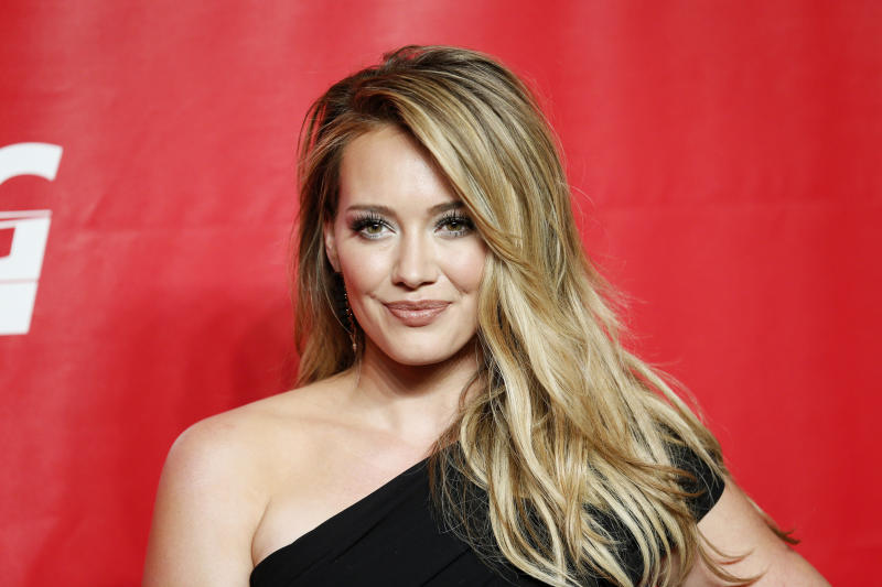 Hilary Duff has a 5-year-old son named Luca. (Danny Moloshok / Reuters)