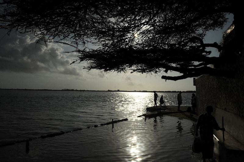 The coal plant is planned to be built in Kenya's Lamu archipelago, a popular tourist spot teeming with marine life (AFP Photo/SIMON MAINA)