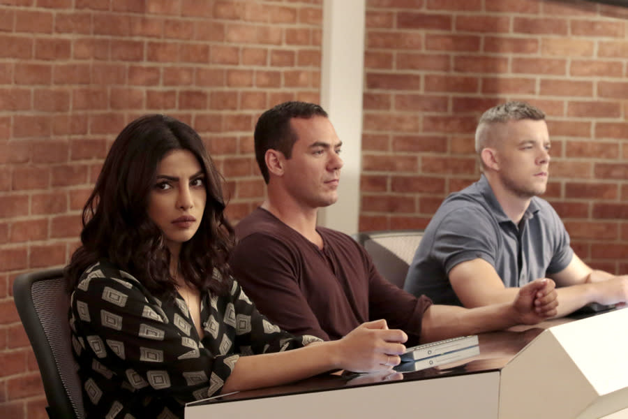 """<p><b>This Season's Theme:</b> """"Sometimes you have to do bad to do good,"""" says creator Josh Safran. <br><br><b>Where We Left Off: </b> Liam (Josh Hopkins) was revealed to be the mastermind behind the attacks, and Alex (Priyanka Chopra) and Ryan (Jake McLaughlin) killed him; Alex accused Claire Haas (Marcia Cross) of assisting Liam; Simon (Tate Ellington) sacrificed himself to save his friends from an exploding bomb; and Alex was offered a job at the CIA. <br><br><b>Coming Up: </b> Season 2 is """"darker than Season 1,"""" says Safran. """"The FBI's goal is to protect people, and they do good. But like I said before, sometimes you have to do bad to do good. The CIA is all about stopping things before they even start to heat up. They take a much longer view, and they have to do some more insidious things, so there's an amorality that you have to have in a certain way to be an operative in the CIA. That takes Alex into darker waters."""" So yes, Alex accepts the job with the CIA, and Safran says we'll learn in the Season 2 premiere why the CIA was interested in her and her FBI past, and how they plan to use it to their advantage. """"While characters from the past and events from the past still are in the fabric of Alex's life and the show's life, we are not doing any sort of direct pickup, except for in the history of these characters,"""" says Safran. """"Claire Haas is vice president, but she exists as a specter of when people get away with things, let's say. She's more of a moral lesson and less of a plot point."""" <br><br><b>New Love Interest?: </b> There is a time jump between Seasons 1 and 2, but Safran won't say how long. He confirms Ryan is back and will team with Alex on a new adventure, but won't say if they're together romantically. He does drop some intel on new cast member Blair Underwood, who'll be working with Alex at the CIA. """"He plays an enigmatic character named Owen Hall. He intersects with every character. We love working with Blair so much,"""" Safran says. """"What I love so"""