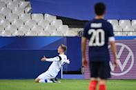 Marcus Forss' strike set Finland on their way to a win over the world champions