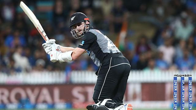 New Zealand overcame a mid-innings wobble to beat India in the third one-dayer, despite missing several key players.