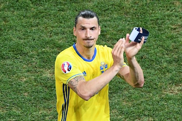 Zlatan Ibrahimovic hasn't played for Sweden since retiring after Euro 2016 (AFP Photo/VINCENZO PINTO)