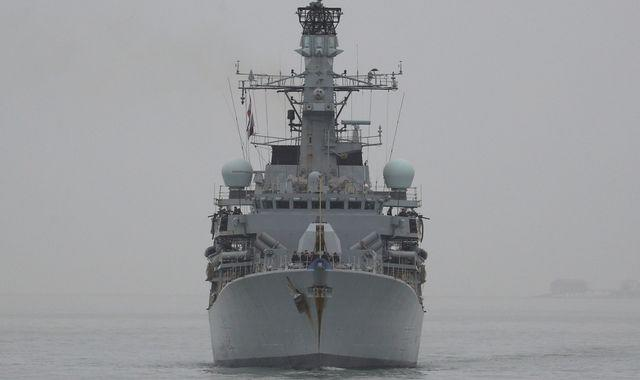 Nine Russian warships near UK escorted by Royal Navy and NATO allies
