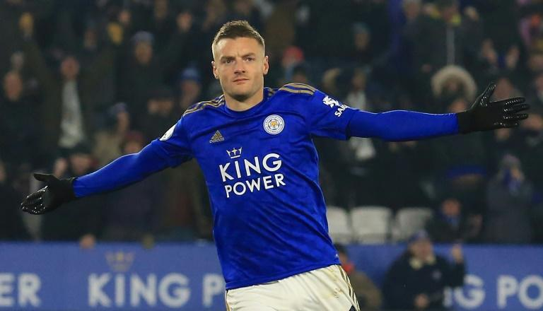 Jamie Vardy has scored 16 goals in 16 Premier League matches