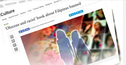 Book in South Korea about Filipino women slammed for racist