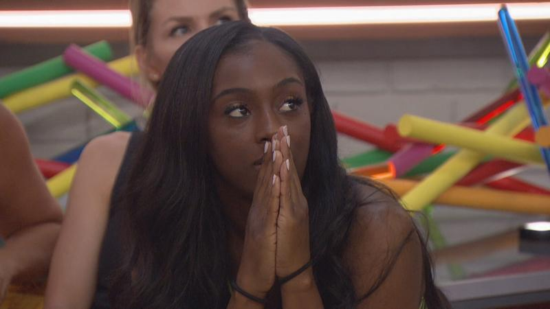 """Da'Vonne Rogers competes on the premiere of """"Big Brother: All-Stars."""""""