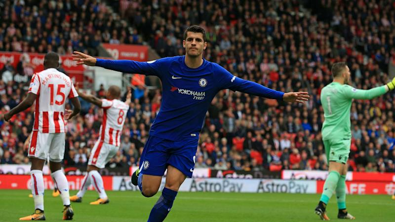 Morata hat trick leads Chelsea to big win