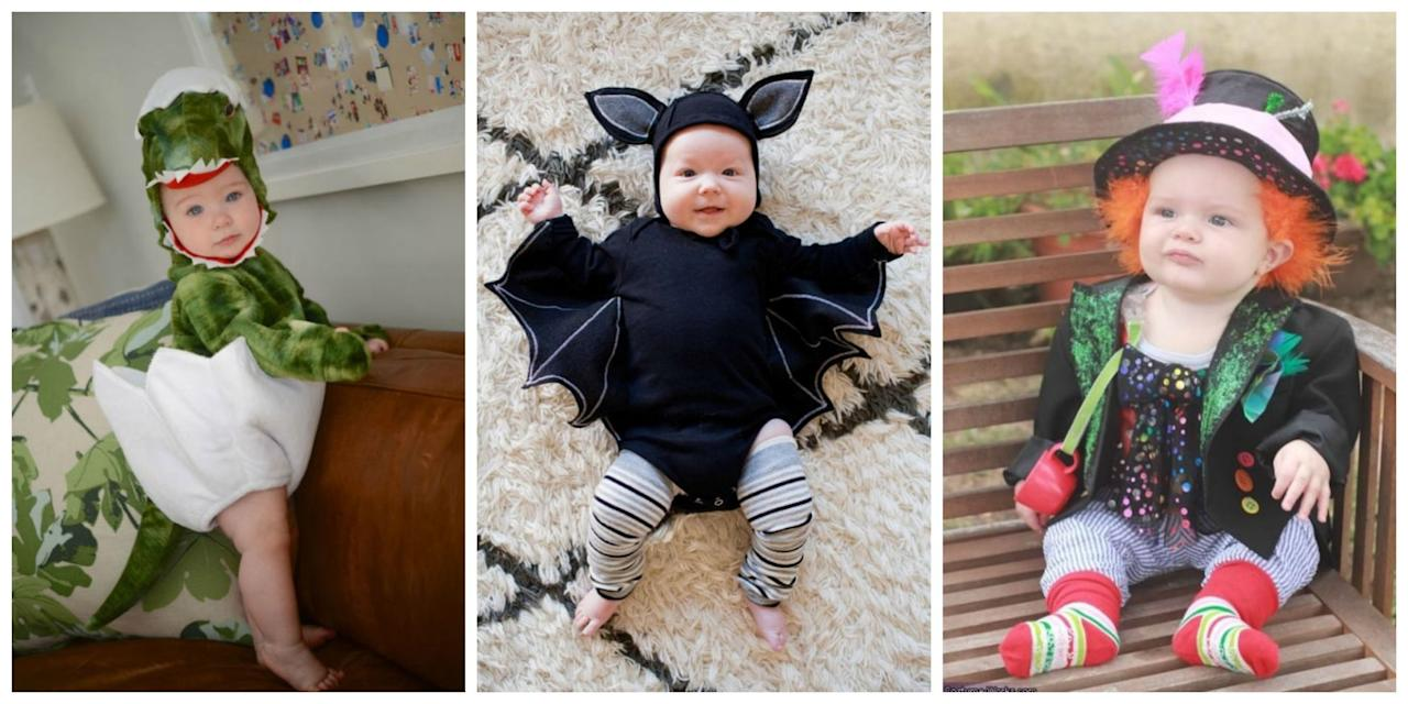 <p>Dress your little ones up as ladybugs, pilots, or even cocktails for a trick-or-treat cuteness overload.</p>