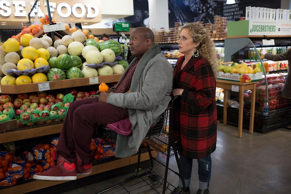 "Tituss Burgess and Kane in an episode of ""Unbreakable Kimmy Schmidt."" (Photo: Universal Television via Getty Images)"