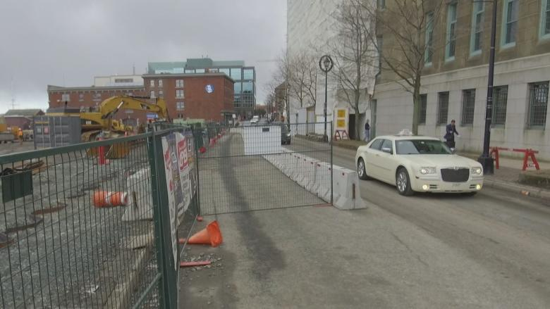 Queen's Marque construction a royal pain for parking