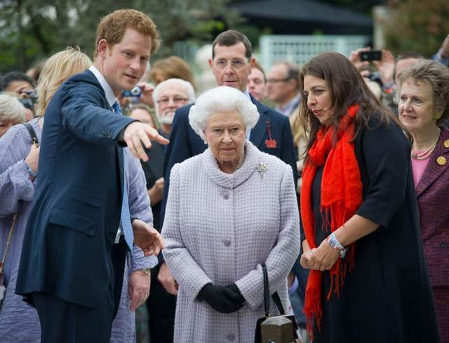 Harry and the Queen