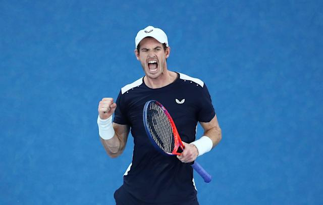 5525e3ff89fe Andy Murray has played only once in 2019 at the Australian Open (Photo by  Scott