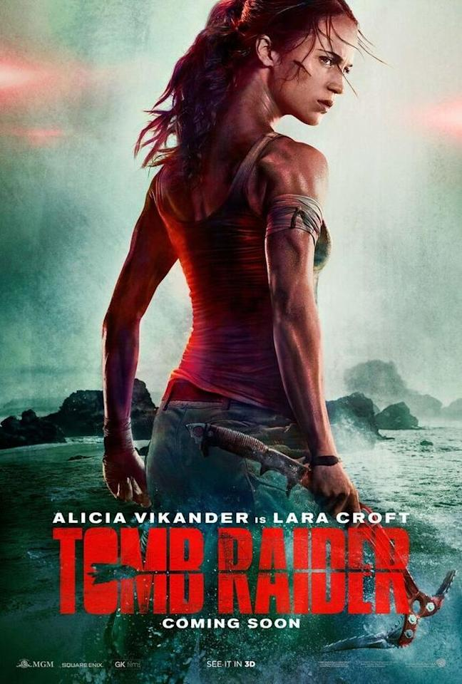"<p>While we appreciate Hollywood depicting a strong female character, this version of Lara Croft quickly <a rel=""nofollow"" href=""http://www.bbc.com/news/entertainment-arts-41331702"">went viral</a> <a rel=""nofollow"" href=""http://www.instyle.com/news/alicia-vikander-tomb-raider-poster-photoshop-fail"">for the wrong reason</a>: namely, some overzealous Photoshop work on Alicia Vikander's neck. </p>"