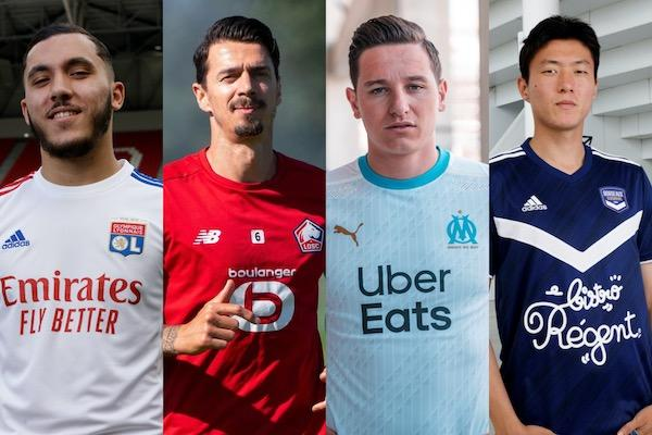 Sponsors maillots Ligue 1