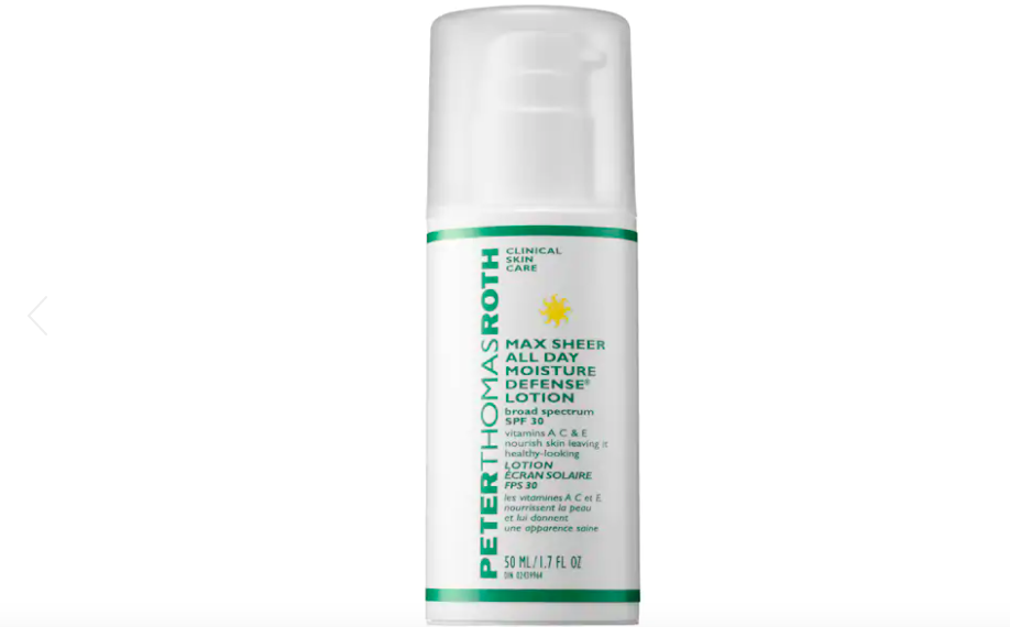 Peter Thomas Roth Max Sheer All Day Moisture Defense Lotion Broad Spectrum SPF 30 (Photo: Sephora)