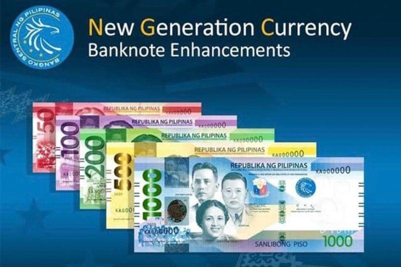BSP adds design, security features on banknotes
